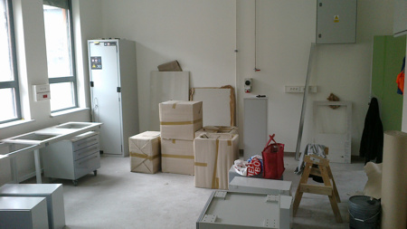 our new laboratory